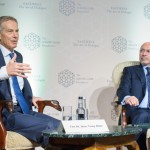 The Rt. Hon. Tony Blair and Mr Shafik Gabr