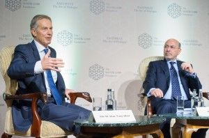 The Rt. Hon. Tony Blair and Mr Shafik Gabr