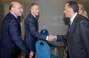 The Rt. Hon. Tony Blair meets Hussein Shobokshi, President, Shobokshi Development & Trading Company