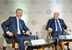 Shafik Gabr and The Rt. Hon. Tony Blair