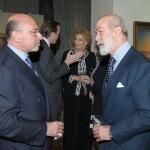 Shafik Gabr and Prince Michael of Kent