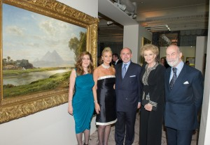 Shahdan Gabr, Mrs Gigi Gabr, Mr Shafik Gabr and Princess and Prince Michael of Kent