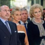 Shafik Gabr, Mrs Gigi Gabr and Princess Michael of Kent