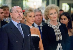 Shafik Gabr, Mrs Gigi Gabr and Princess Michael of Kent