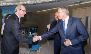 Lord Poltimore, Deputy Chairman, Europe & Sotheby's, Russia and The Rt. Hon. Tony Blair