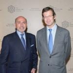 Shafik Gabr and Prince Max of Liechtenstein