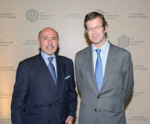 Shafik Gabr and Prince Max of Liechtenstein