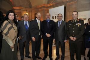 Mr and Mrs Gamal Helal, Sen. Nickles, Mr Shafik Gabr, Amb Tawfik and Gen. el Kishky