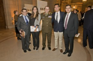 Mohamed Ramzi, Nadine el Alfi, Gen. el Kishky, Osama Mohsen, Mohamed el Kishky Jr