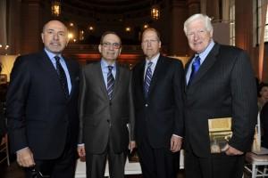 Mr Shafik Gabr, HE Ambassador Mohamed Tawfik, Sen. John Sununu and Rep. Jim Moran