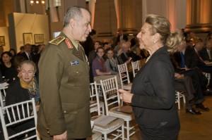 Gen. Mohamed el Kishky and Mrs Jehanne el Alfi