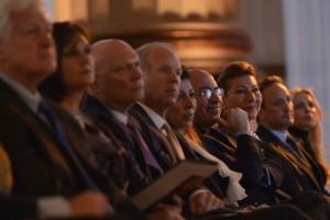 Jeff DeBoer, Sen. Nickles, Shahdan Gabr, Mr Shafik Gabr, Jehanne el Alfi and Ambassador Salem el Sabah