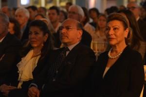 Mrs Shahdan Gabr, Mr Shafik Gabr and Mrs Jehanne el Alfi