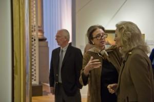 Mrs Aniko Gaal-Schott and HRH Princess Michael of Kent