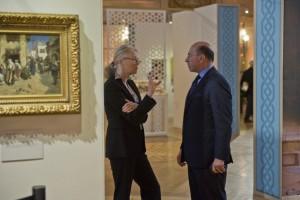 Mr Shafik Gabr and Mrs Jennifer Maguire Isham