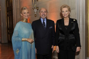 Mr and Mrs Gabr with HRH Princess Michael of Kent