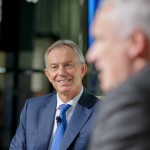 The Rt. Hon. Tony Blair and Nik Gowing