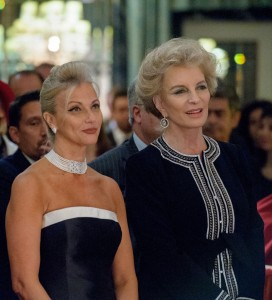 Mrs Gabr and HRH Princess Michael of Kent