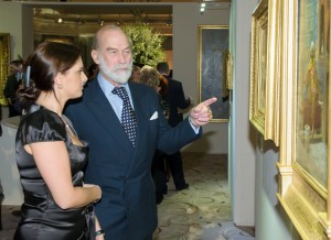 HRH Prince Michael of Kent and Calina Norton
