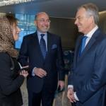 HRH Princess Basmah, Shafik Gabr and The Rt. Hon. Tony Blair