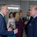 The Rt. Hon. Tony Blair and Shafik Gabr
