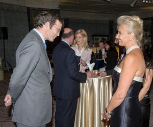 HRH Prince Max von und zu Liechtenstein and Mrs Gabr