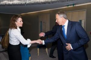 Wendy Goldsmith and The Rt. Hon. Tony Blair
