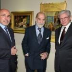 Shafik Gabr, HRH Prince Michael of Kent and Dr Taher Helmy.