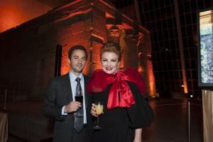 Alec Wildenstein and Georgette Moschbacher