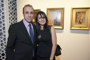 Mr and Mrs Hossam Abdel Maksood