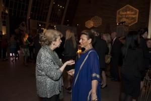 Ambassador Shaker and Jehane el Alfi