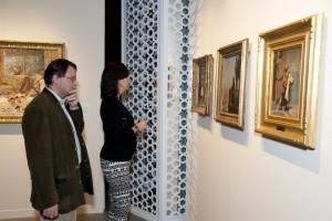 Guest viewing Bashi Bazouk by Gerome