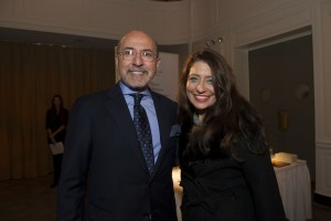 Mr Shafik Gabr and Muna Rihani