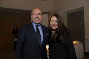 Mr Shafik Gabr and Muna Rihani