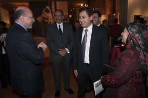 Mr Shafik Gabr and Mohamed el Kishky Jr