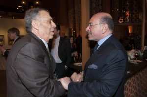 Moustapha Mokheimer and Mr Shafik Gabr