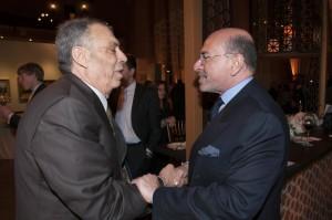 Moustapha Mokheimer and Mr Shafik Gabr