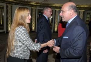 Raquel Valladares and Shafik Gabr