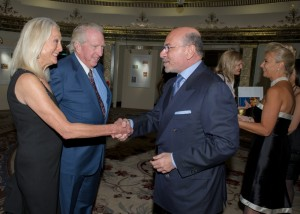 Tom and DeAnne Hutchison with Shafik Gabr