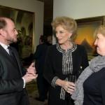 Arne Everwijn, HRH Princess Michael of Kent and Alexandra McMorrow