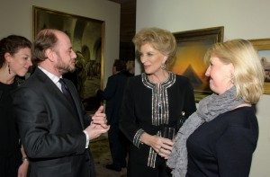Arne Everwijn, HRH Princess Michael of Kent and Alexandra McMorrow