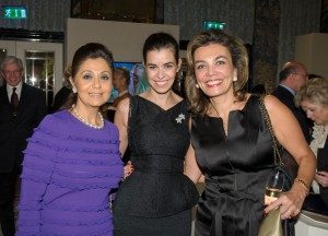 Shahira Zeid with Lara and Sherine Helmy