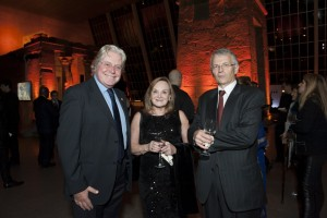 Hussein Fahmy and Louise and Ferry de Kerckhove