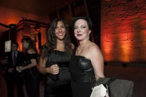 Nadine el Alfi and Rebecca Weber