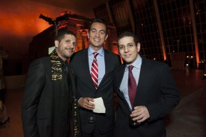 Eric Parnes, Osama Mohsen and Mohamed Ramzi
