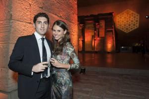Joseph Zoccali and his fiancée