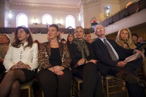 Shahdan Gabr, Jehanne el Alfi, Gigi Gabr and the Kennedy's