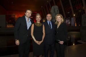 The Gabr's, Arianna Huffington, Jimmy Maymann
