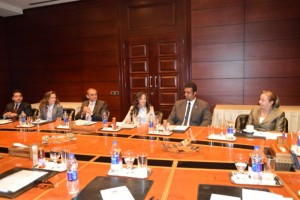 (Left to right) - Mr Ahmed Saad Zaghloul, Ms Dalia El Abd, Mr Ahmed El Habibi, Ms Sue Ellen assouna, Mr Amr Ismaeil and Ms Randa Fouad