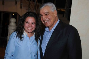 Zahi Hawass and Reem Soliman